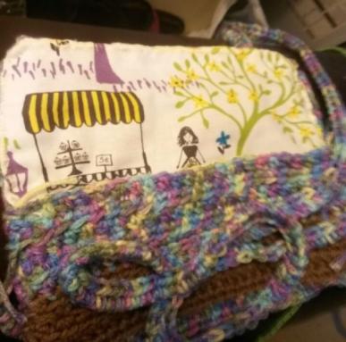 CrochetedSmall Purse